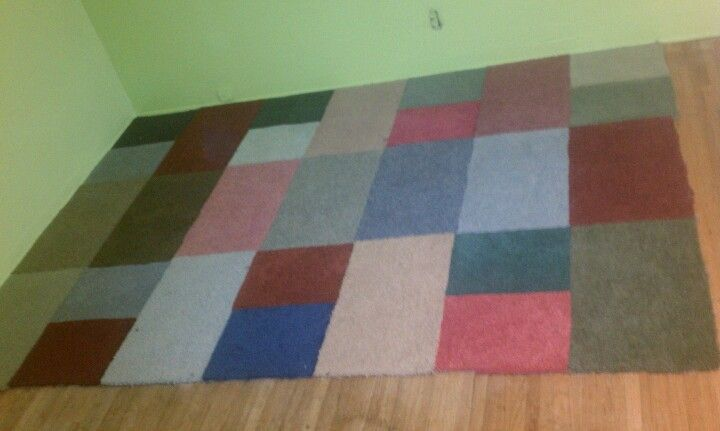 I Made An Area Rug Thanks To Pinterest 26 53 Carpet Samples