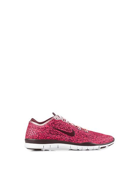 Nike Free 5,0 Tr Fit 4 Prt - Nike - Red Patterned - Training Shoes - Sports Fashion - Women - Nelly.com Uk