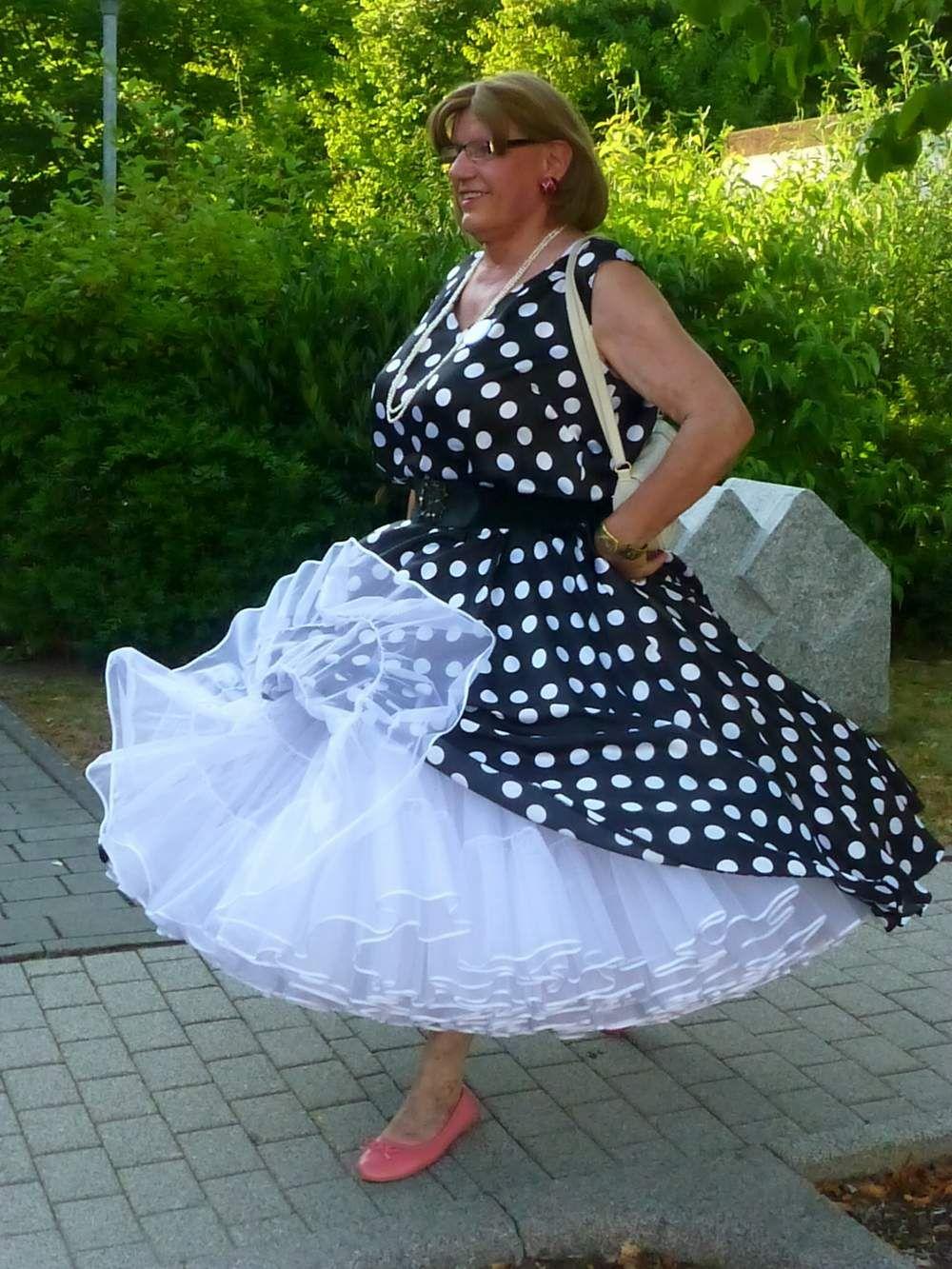 240yard Petticoat | Dotty about polka dots | Pinterest | Sissy maid ...