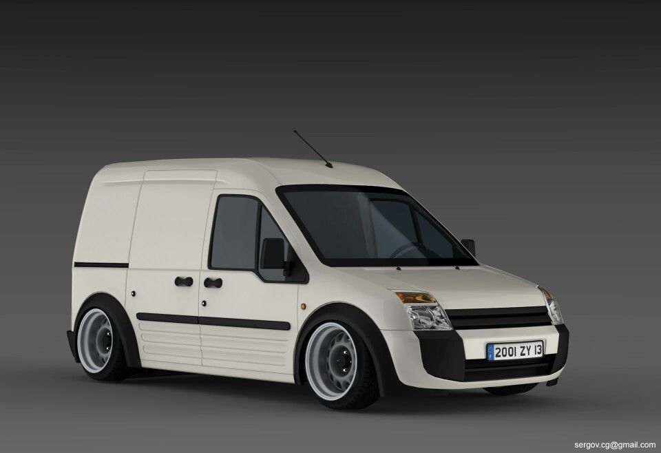 Ford Transit Connect Slammed With Images Ford Transit Ford