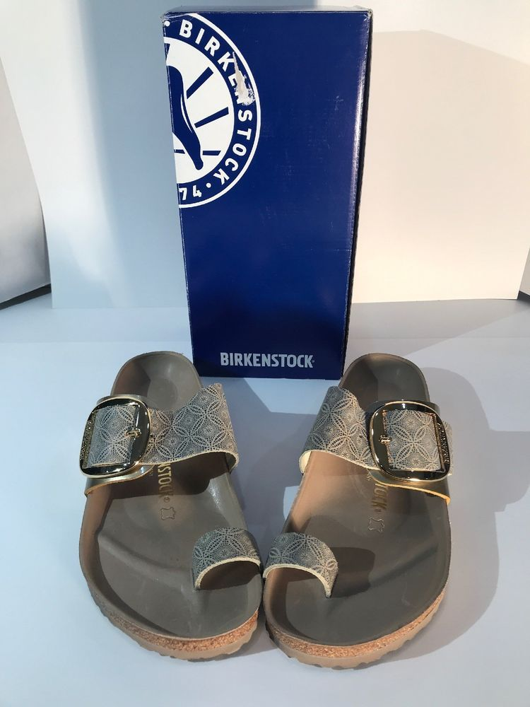 7a4b4fcdf36 Birkenstock NIB Womens Miramar Big Buckle Ceramic Pattern Blue 41 US10   fashion  clothing  shoes  accessories  womensshoes  sandals (ebay link)