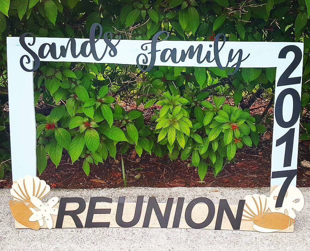 Sands Family Reunion Photobooth Frames Are A Hit At Every Event