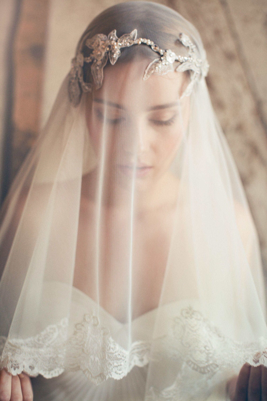Красивые свадебные прически на средние волосы с фатой (50 ...