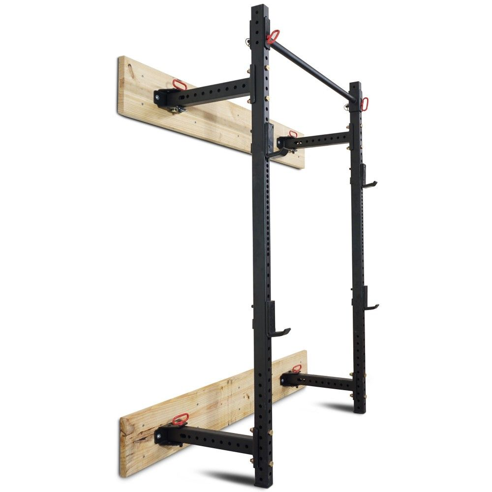 21 5 Fold Back T 3 Power Rack Wall Mount Power Rack Squat Rack At Home Gym