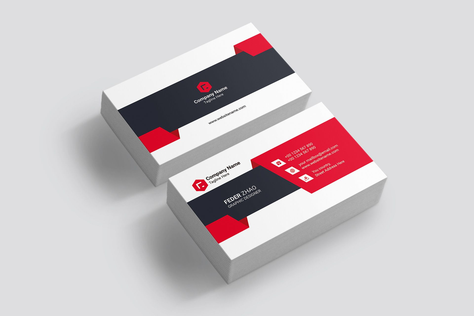 Fei Z On Behance Business Cards Corporate Identity Business Cards Business Cards Creative Templates