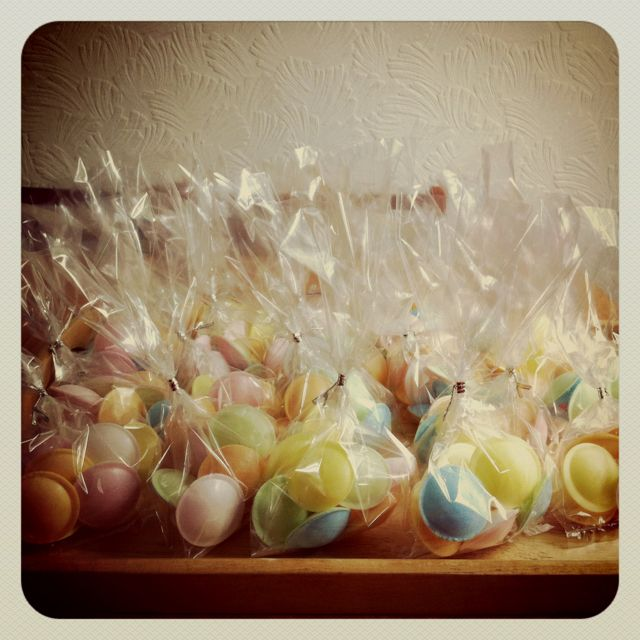 Flying Saucers for party bags