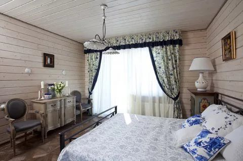 интерьер деревянного дома в стиле прованс: 14 тыс ...