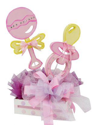 Centro De Mesa Para Baby Shower Nina Manualidades Para Baby Shower Deco De Baby Shower Centros De Mesa De Baby Shower