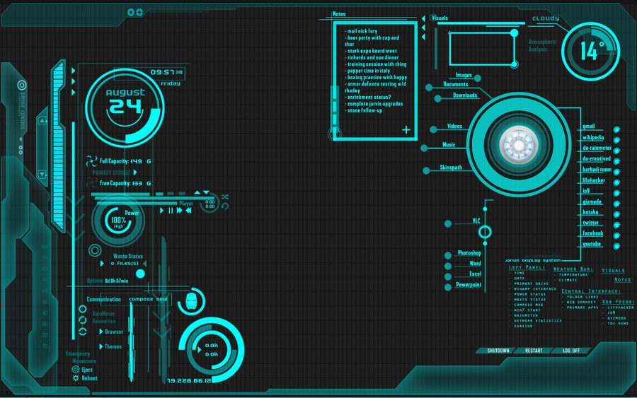 49 Jarvis Live Wallpaper For Windows On Wallpapersafari Live Wallpapers Futuristic Design Sci Fi