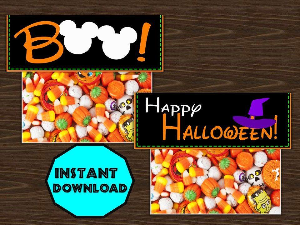 Halloween Decorations - Disney decor -Halloween Party -Halloween - decorate halloween bags