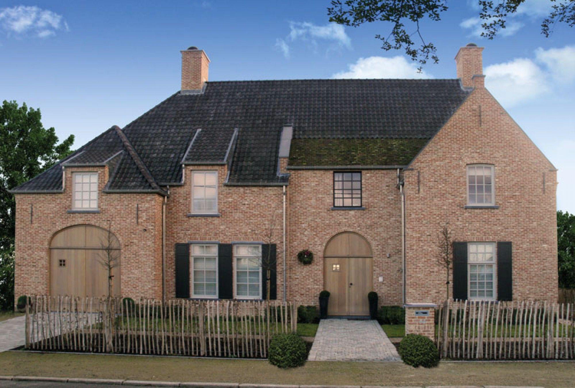 Landelijke villa av00 architectuur pinterest huizen for Landelijke villa bouwen