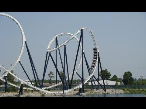 Led Zeppelin The Ride Roller Coaster Pov Hard Rock Park Myrtle