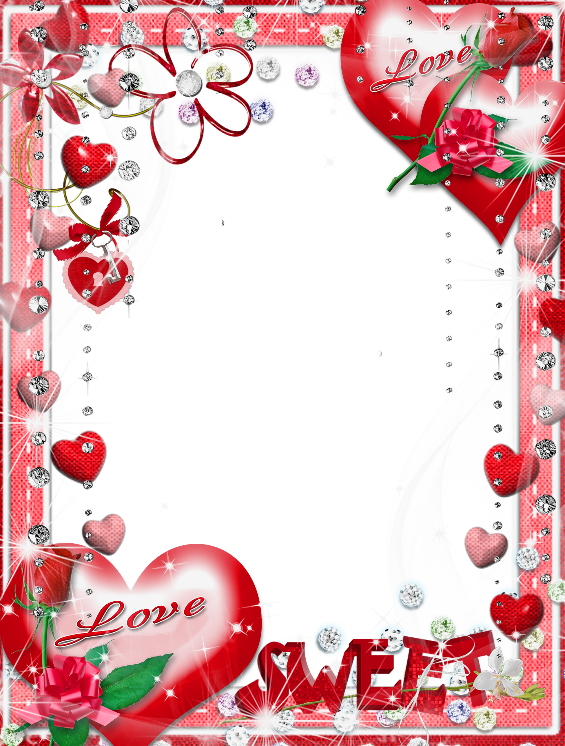 Pin by Afr0 on a | Love frames, Png photo, Wedding frames