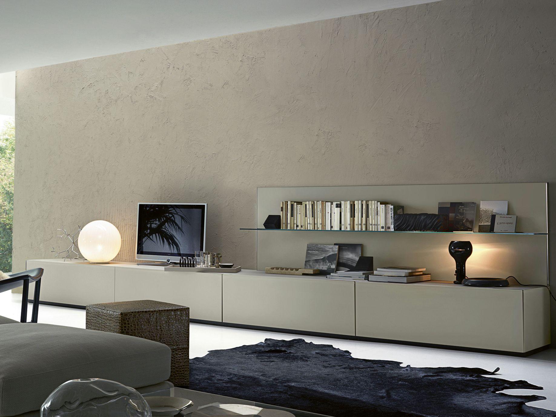 AIR TV Lowboard By Gallotti · Tv LowboardWohnwand ModernWohnzimmerHolz ...