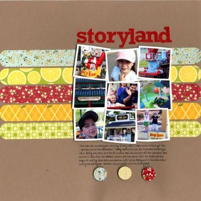5 Ways To Journal On Your Layout Scrapbooking Layouts Scrapbook