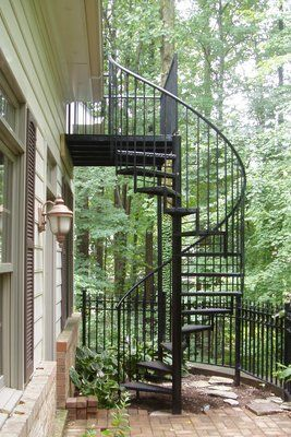 Outdoor Spiral Staircase Outdoor/indoor spiral