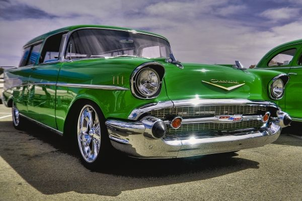 1957 Chevy Nomad Chevy Nomad Hot Rods Cars Muscle Classic Cars Trucks