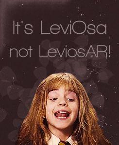 Hermione Leviosa Quote