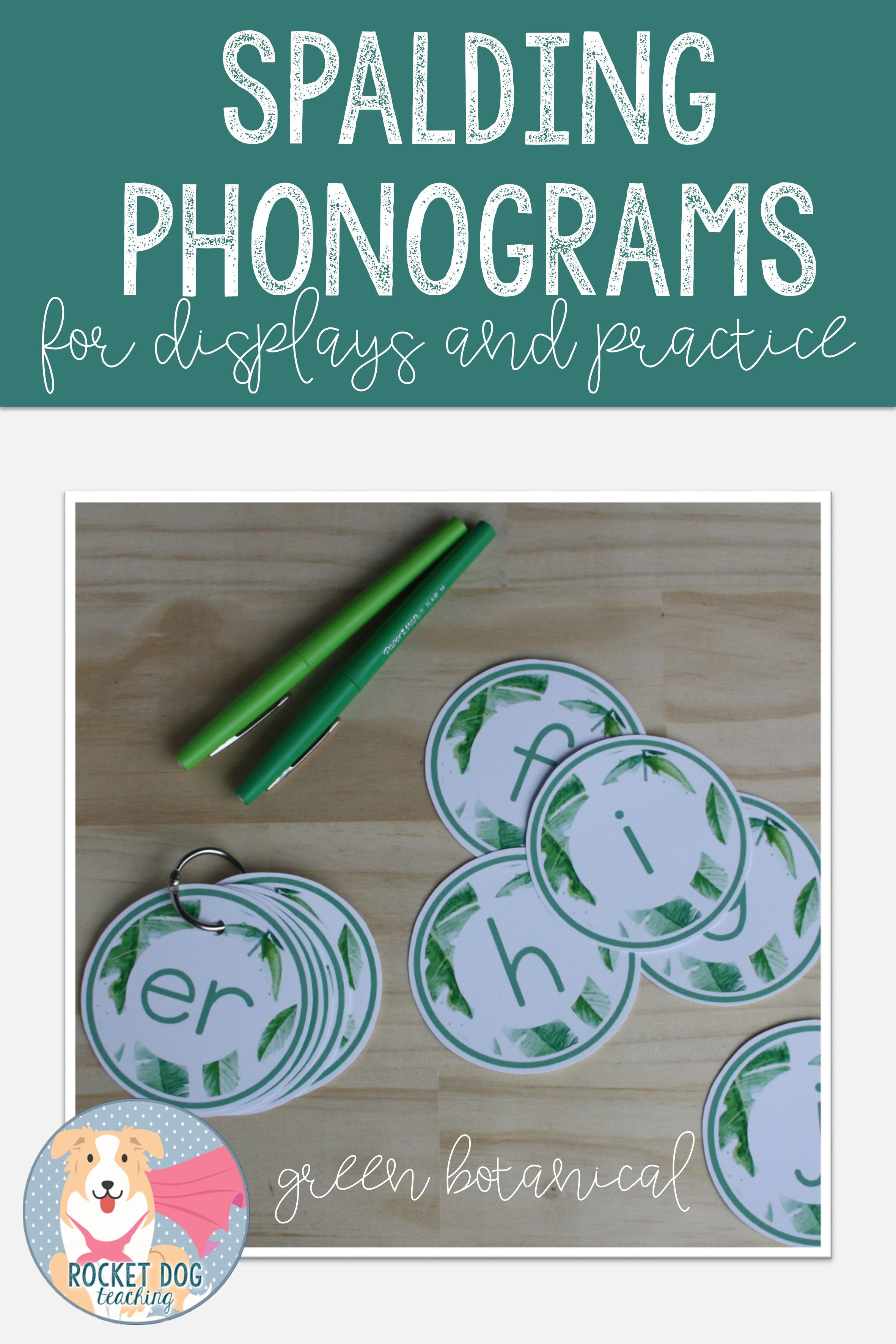 Spalding Phonogram Cards In A Green Botanical Design For Your Classroom Display Them For Student Reference Classroom Displays Phonograms Classroom Education [ 3543 x 2362 Pixel ]