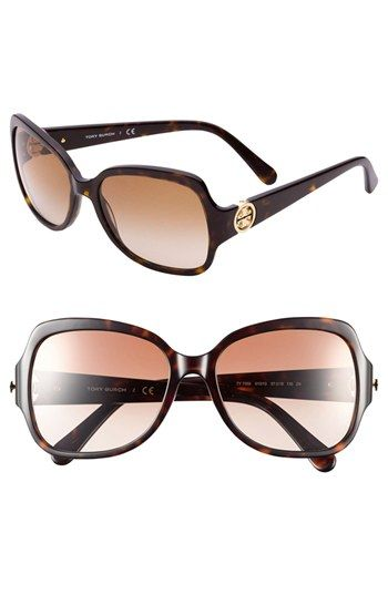 bd8f80ed2d So glad i got these! too cute! Tory Burch  Glam  57mm Logo Hinge ...