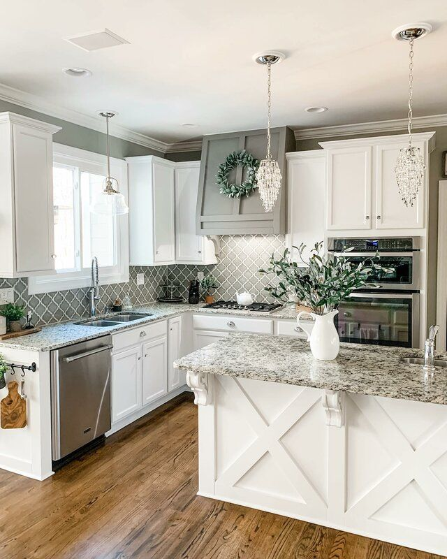 how to choose gray paint colors accent colors for rooms in 2020 farmhouse kitchen design on farmhouse kitchen wall colors id=68704
