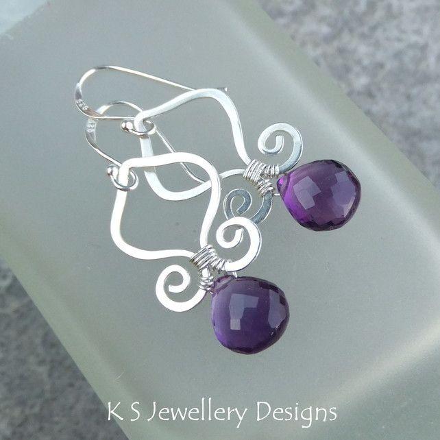 Wire Jewellery Tutorial - GENIE DROPS (Earrings) - Wire Wrapping ...