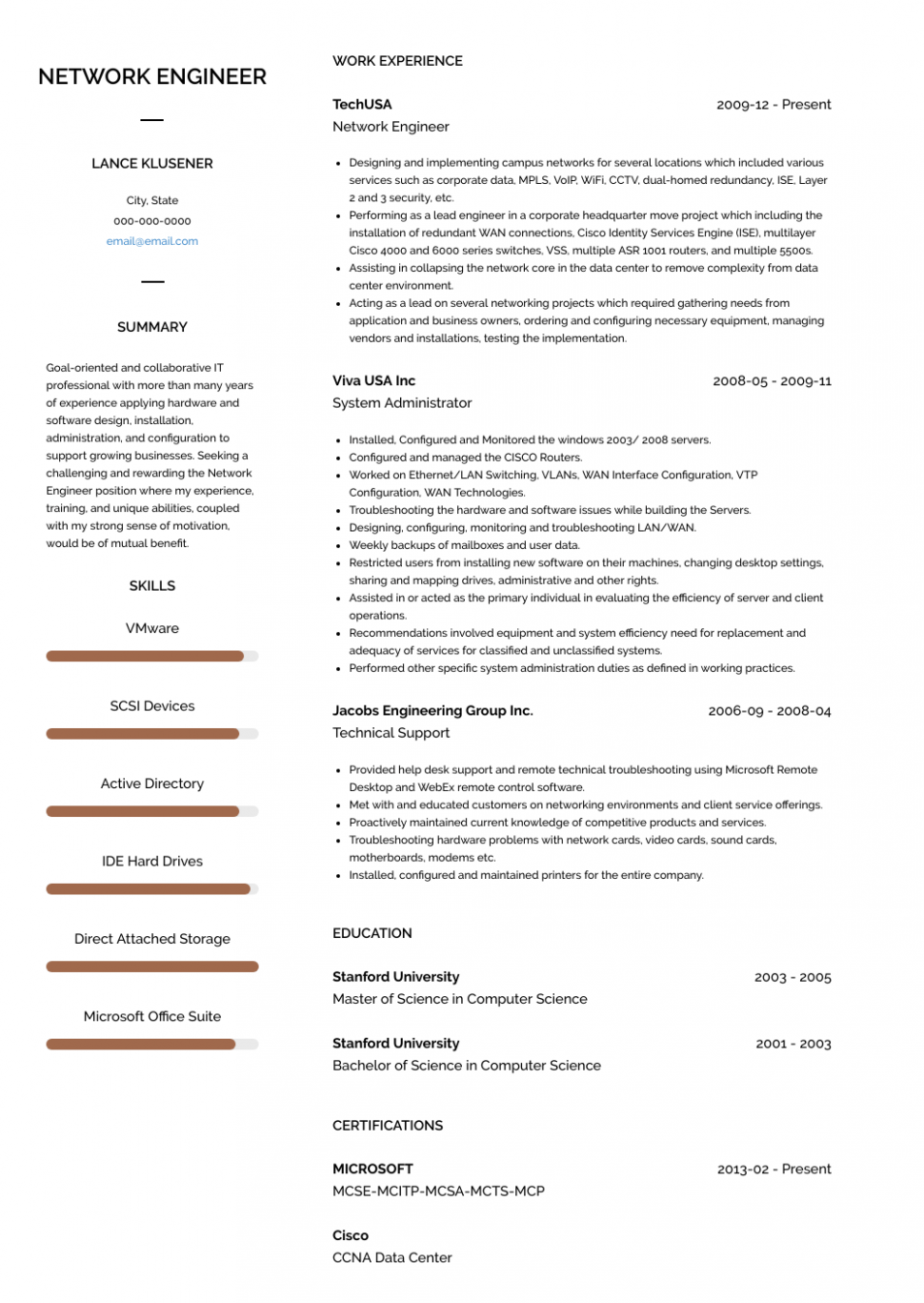15 Engineer Resume How Many Pages