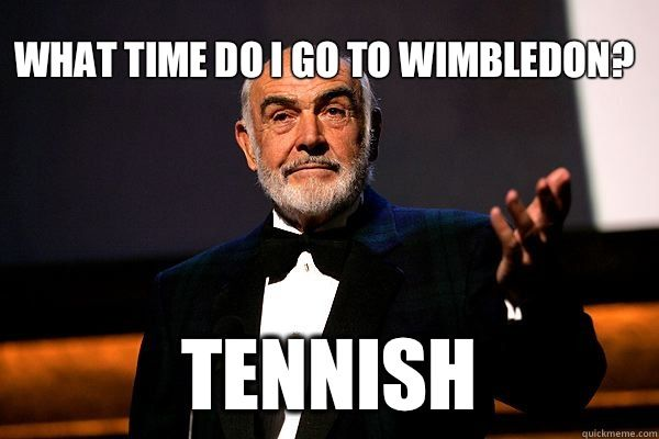 47 Terrible Puns Tennis Funny Sean Connery Terrible Puns