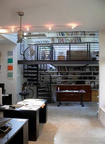 Author and illustrator studio addition modern home office denver mark gerwing also