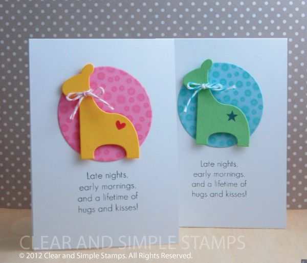 Exceptional Baby Boy Or Girl By Clear And Simple   Cards And Paper Crafts At  Splitcoaststampers
