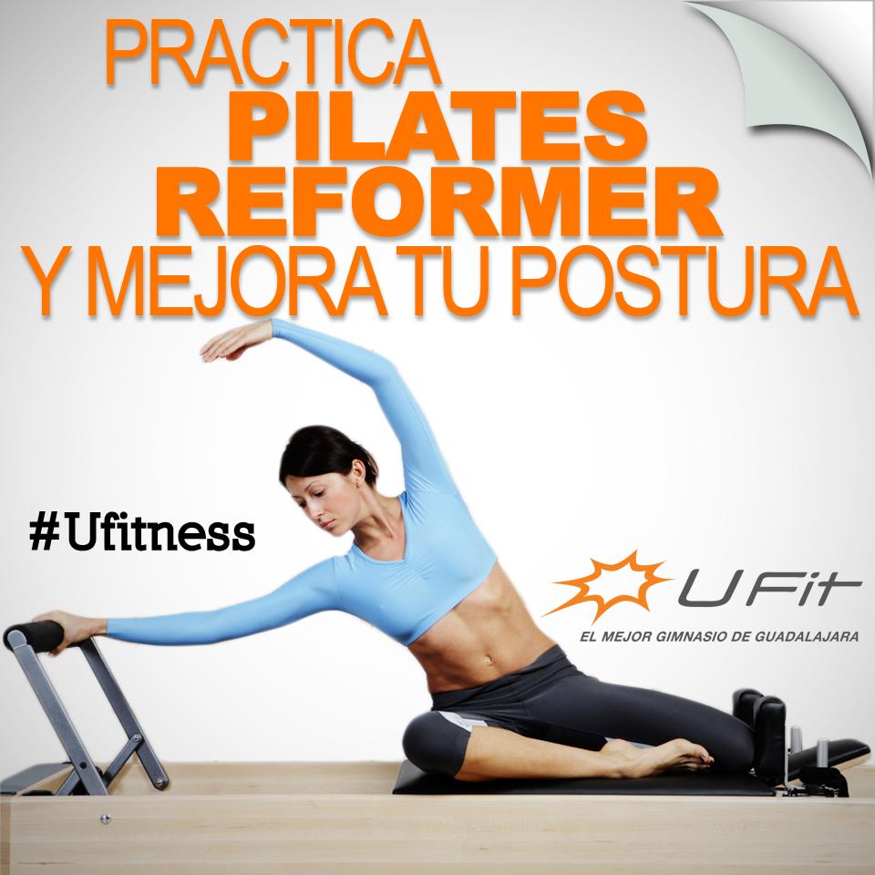 Tonifica tu cuerpo y mantén tu figura con #PilatesReformer de #Ufit.