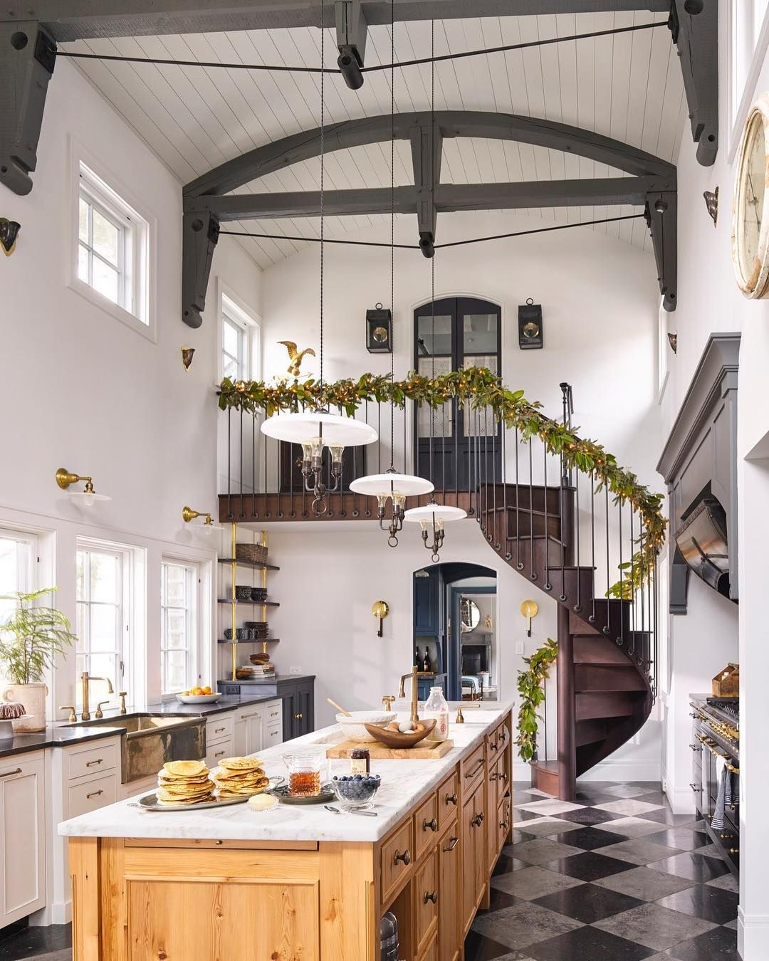 """House Beautiful on Instagram """"This kitchen needs no"""