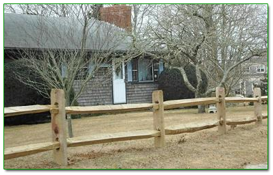 Split Rail Fence New Home Design Ideas Fence Front