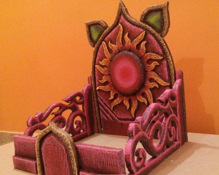 Make Thermocol Temple For Ganpati Diy Mandir