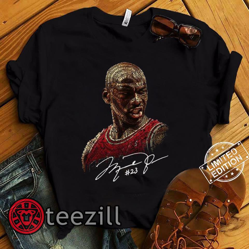 Michael Jordan Signature 23 Shirt Teezill Michael Jordan Michael Jordans