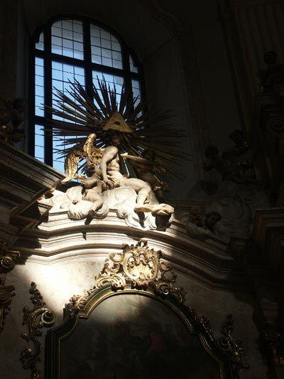 Jan Santini Aichel, Křtiny