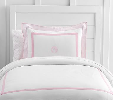 Duvet Cover Full Queen Pale Pink