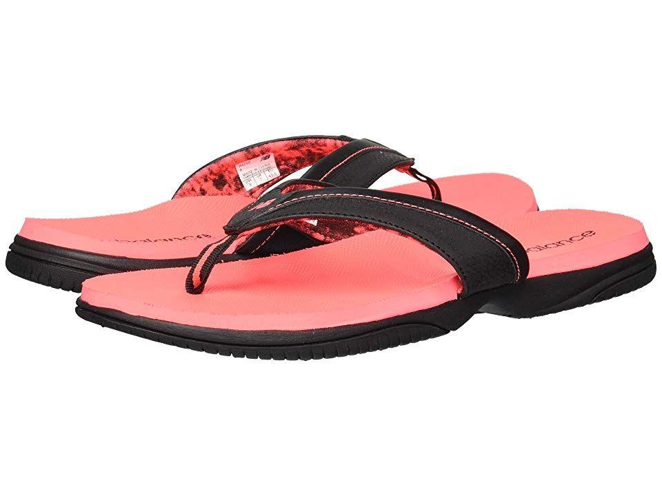 da1de2e6782 New Balance JoJo Thong (Black Pink 1) Women s Sandals. Flash that fresh
