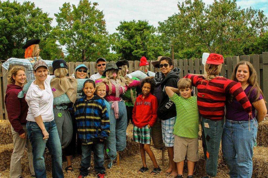 Scarecrows At Mcdonald Garden Center In Virginia Beach Virginia