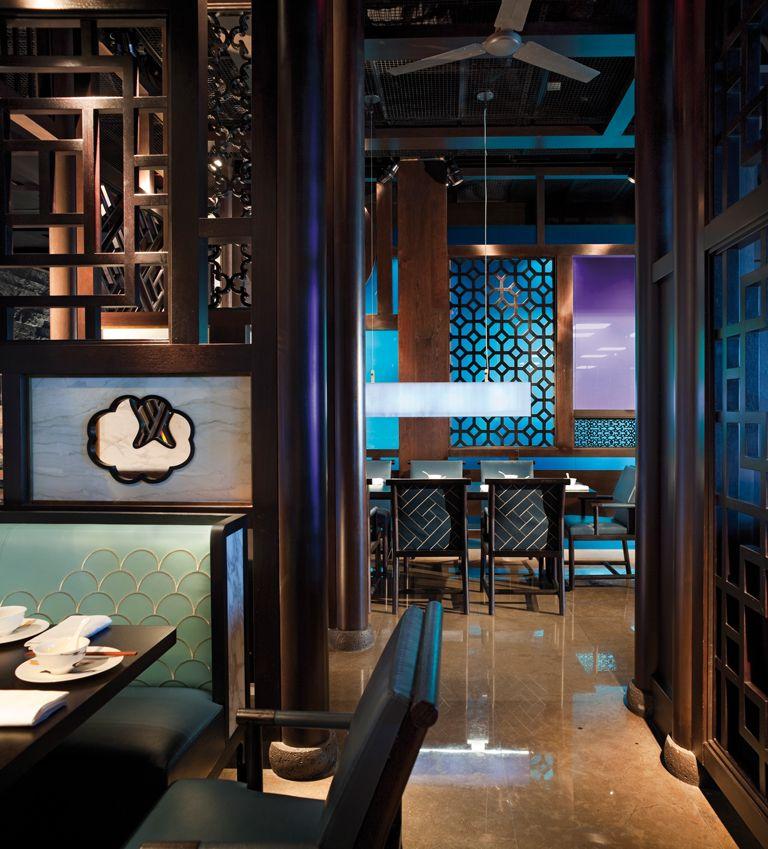 lsd-12-couleur-ambiance-bleu | restaurant design | Pinterest ...