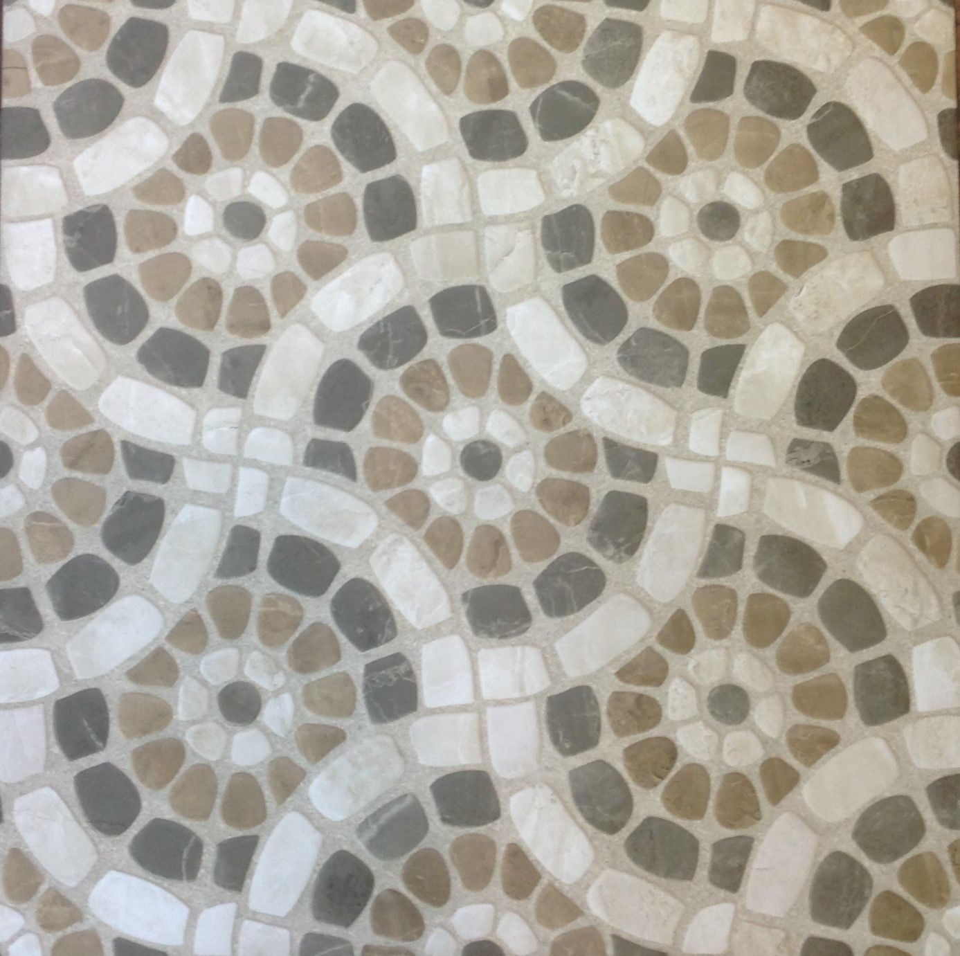 Patio Pebble Look Decor Ceramic Floor Tile 24 X24 Ceramic Floor Tile Patio Tiles Outdoor Tiles