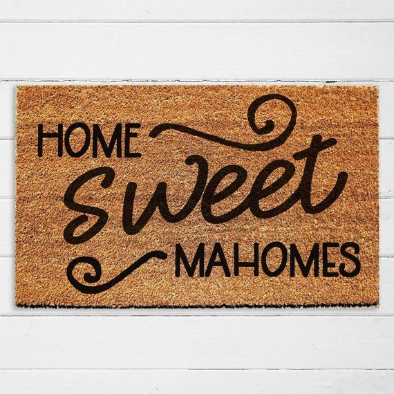 Welcome To Chiefs Kingdom! This Is The Perfect Doormat For