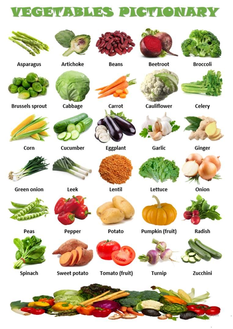 Vegetables pictionary worksheet - Free ESL printable ...