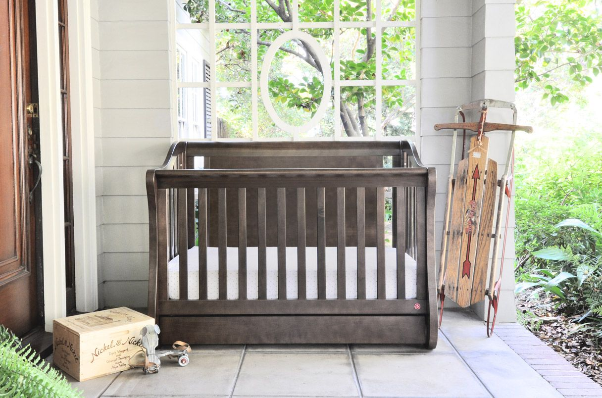 grigio by products finish gray palitaly pali modern minisponda crib cribs natural wooden leone handmade naturale