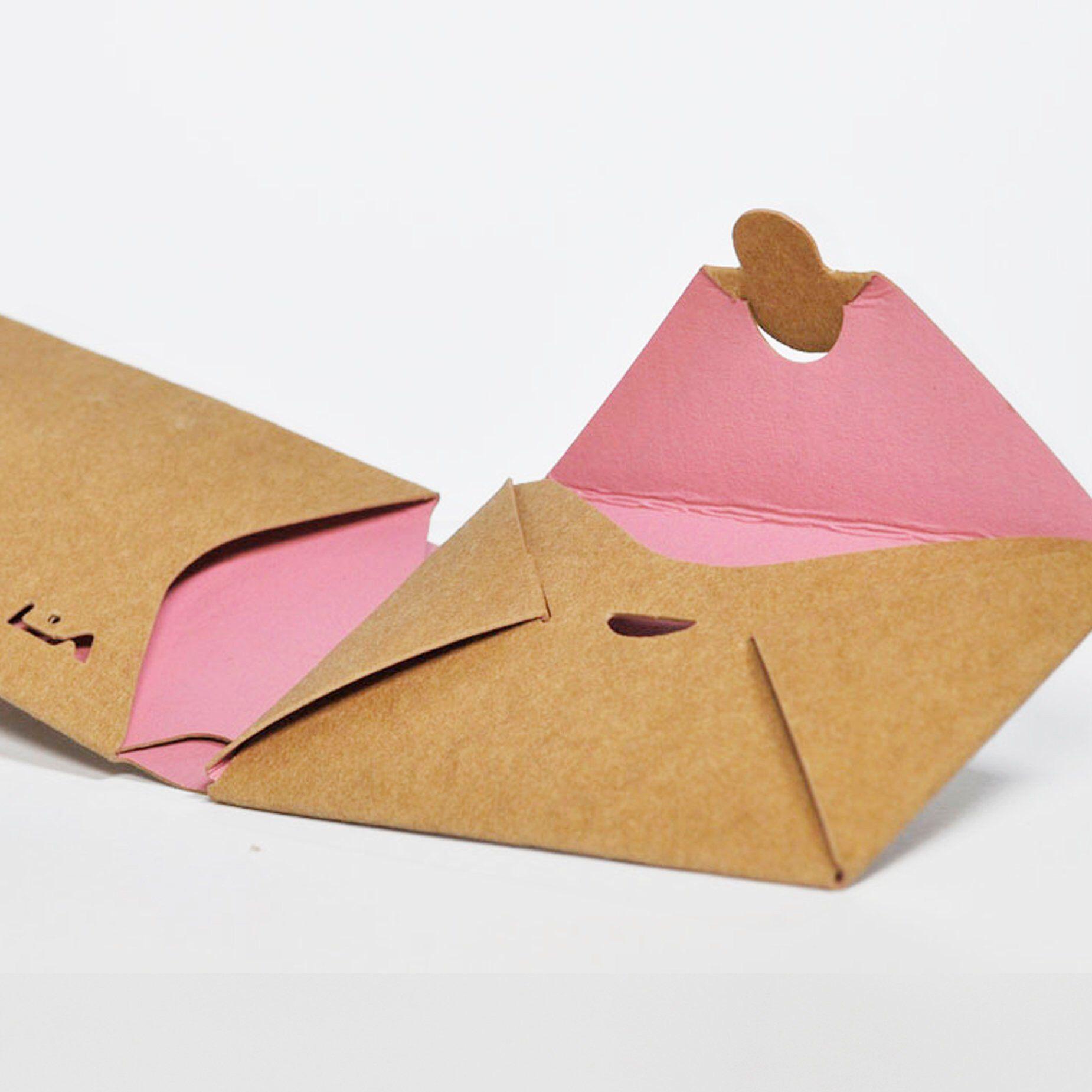 Wir Haben Eine Kollektion Kleinformatiger Geldborsen Kreiert Die Von Der Traditionellen Japanischen Origami T Origami Geldborse Diy Origami Japanische Origami