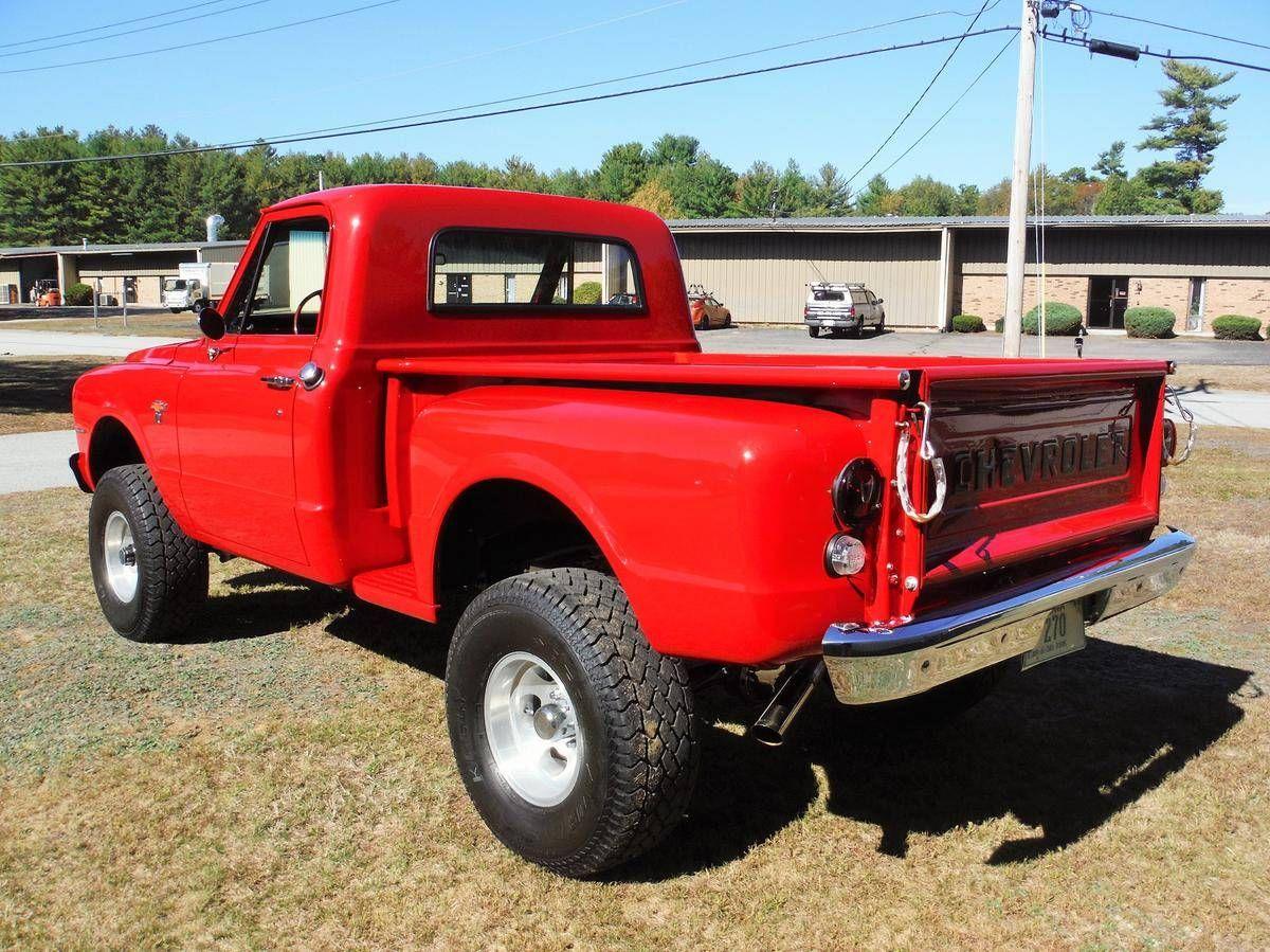 1968 Chevrolet K10 4x4 Stepside Truck 2 Or 4 Wheels Pinterest Chevy Pickup For Sale