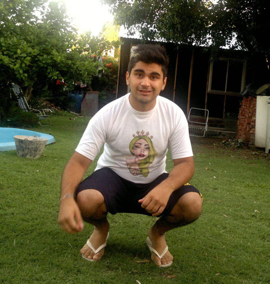 Gaga t-shirt + Me.