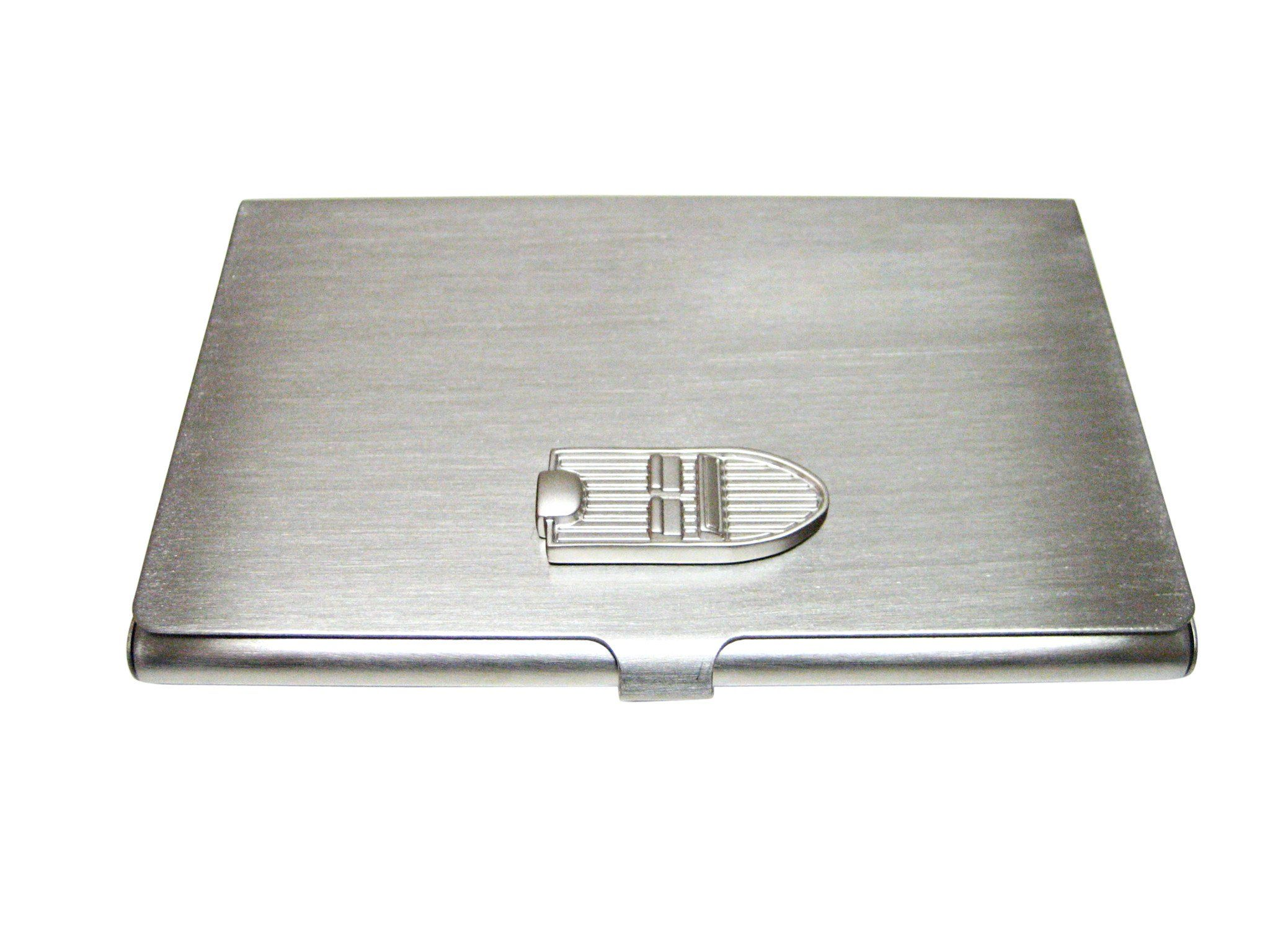 Silver Toned Boat Business Card Holder Business Card Holders Boat Business Card Holder