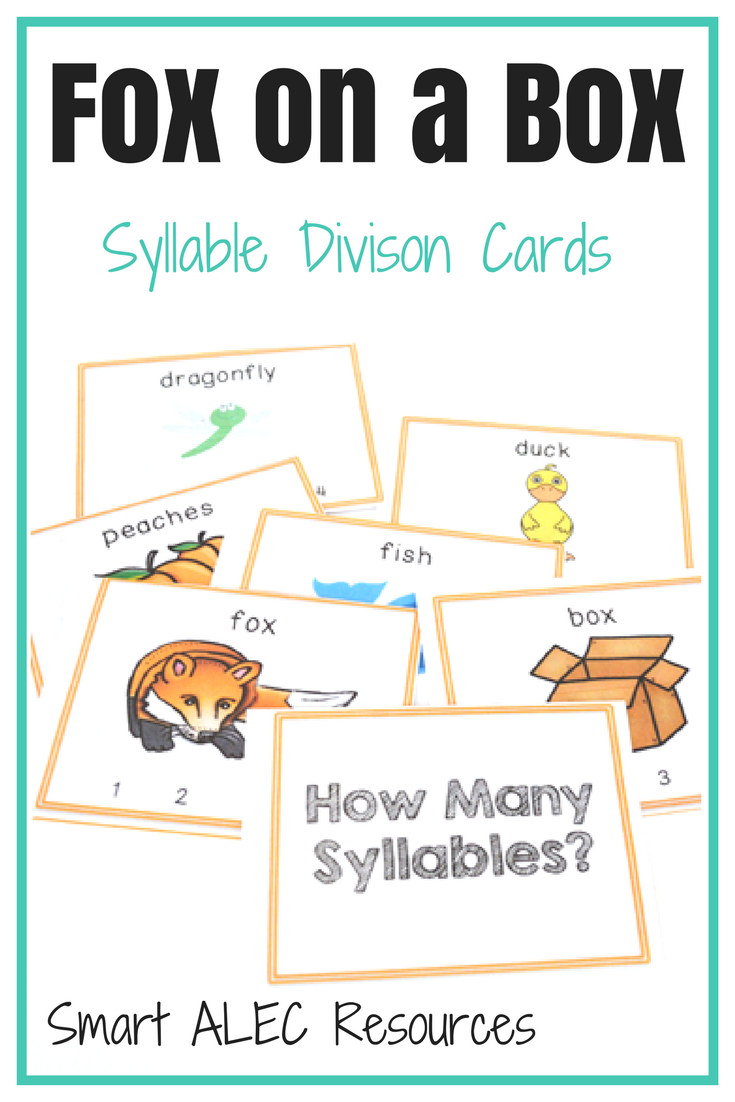 How to teach the child syllables