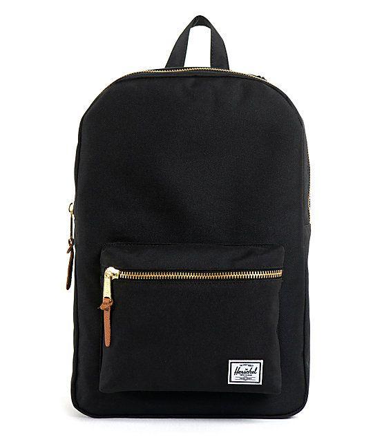 Herschel Supply Co. Black Settlement Backpack   Zumiez